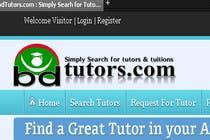 Graphic Design Конкурсная работа №146 для Logo Design for bdtutors.com (Simply Search for tutors & tuitions )