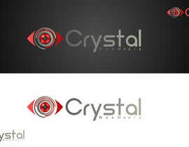#9 for Crystal Web Media Logo af shemulehsan