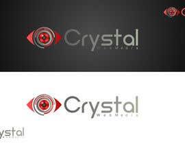 #9 para Crystal Web Media Logo por shemulehsan