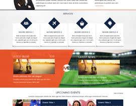 greenarrowinfo tarafından Design a Clean and Professional Website Mockup için no 8