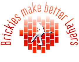"#2 untuk Design a T-Shirt  Logo for ""Brickies make better layers"" oleh weaarthebest"