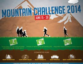 #21 untuk Design a Flyer/Poster for a Mountain Adventure Event oleh goran4s