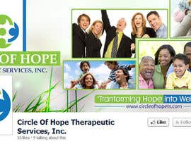 #32 cho Design a Facebook landing page for Circle of Hope Therapeutic Services, Inc. bởi eshad222
