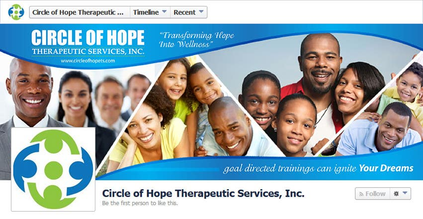 Proposition n°43 du concours Design a Facebook landing page for Circle of Hope Therapeutic Services, Inc.
