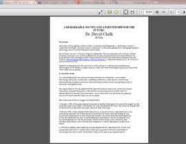 engineermazen tarafından Design a PDF for me from a word doc için no 10
