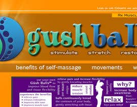#106 for Design a Logo for Massage Balls af seann23