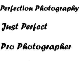 #10 for Come up with a good business name for photography firm by fadia19