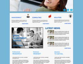 #8 for Projetar a Maquete de um Website for Consulting Company by mishok123