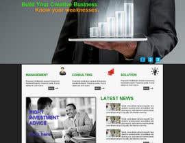 nº 9 pour Projetar a Maquete de um Website for Consulting Company par mishok123