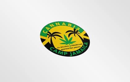 WonderboyBG tarafından Design a Logo for Cannabis Camp Jamaica için no 15