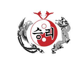 #4 for I need some Graphic Design for a Dragon & a Phoenix wrapping the outside of a Yin-Yang pattern and the Korean characters for Victory in the middle by enshano