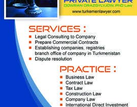 #7 for Law Firm Magazine Ad by Atiqrtj