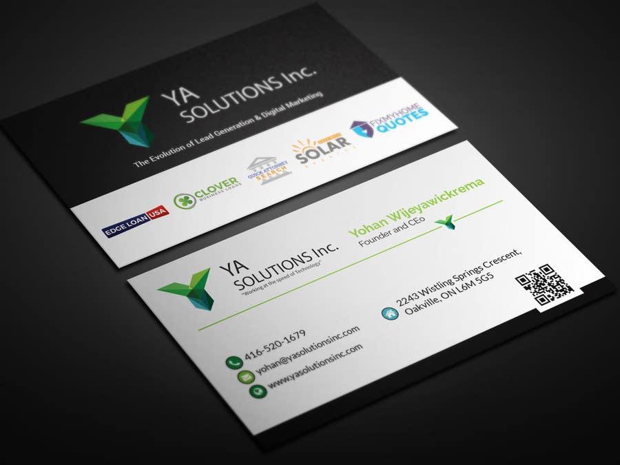Entry #5 by smartghart for Fresh New Business Card Design | Freelancer