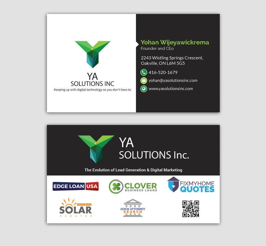 Entry #30 by smartghart for Fresh New Business Card Design | Freelancer