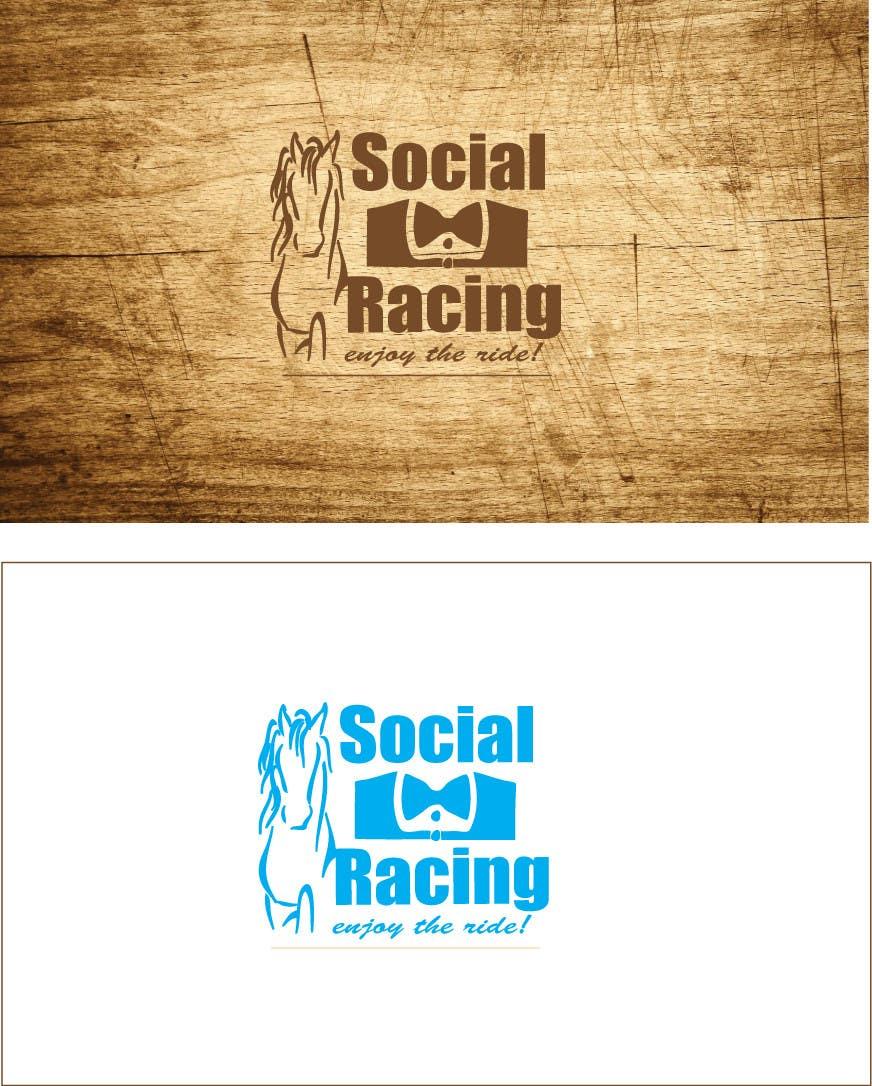 Penyertaan Peraduan #69 untuk Logo Design for Social Racing