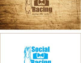 Nro 69 kilpailuun Logo Design for Social Racing käyttäjältä rfajmal4