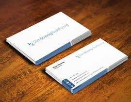 #27 untuk Design some Business Cards for SlimStrongHealthy.org oleh pointlesspixels