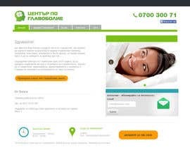 #16 for Design a Website Mockup for а Headache Center - Improve Current Design by Ashleyperez