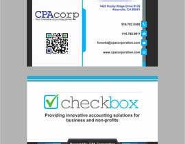 baharuddin21 tarafından Design Double Sided Business Cards for Modern Accounting Firm için no 175