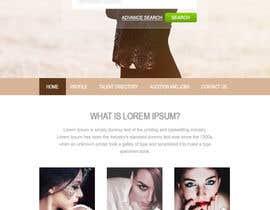 ruffabueno tarafından Design a Fashion Website Mockup için no 6