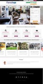 Nro 5 kilpailuun Design a Website Mockup for Fensitup käyttäjältä zicmedia