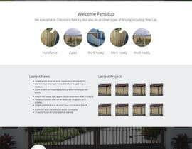 Nro 41 kilpailuun Design a Website Mockup for Fensitup käyttäjältä sanaqila