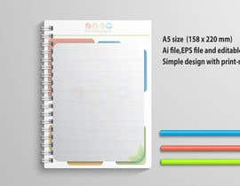 #28 for Design a A5 Memo, Notepad by hsheik