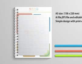 Nro 28 kilpailuun Design a A5 Memo, Notepad käyttäjältä hsheik