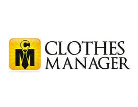 #80 pentru Logo Design for Clothes Manager App de către Moon0322