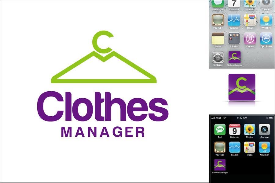 Konkurrenceindlæg #176 for Logo Design for Clothes Manager App