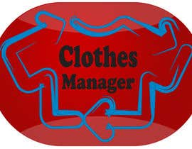 #178 for Logo Design for Clothes Manager App by majidsheikh