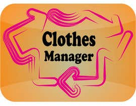 #177 for Logo Design for Clothes Manager App by majidsheikh