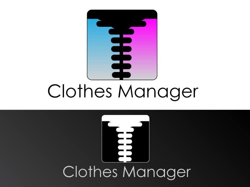 Konkurrenceindlæg #88 for Logo Design for Clothes Manager App