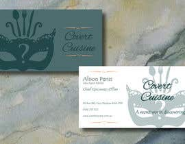 #22 for Design some Business Cards for Covert Cuisine af Sele2