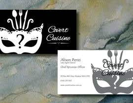#35 for Design some Business Cards for Covert Cuisine af Sele2