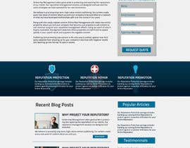 #61 for Wordpress Theme Design for Reputation management website by bendstrawdesign