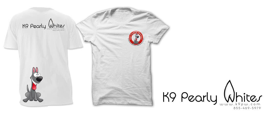 Contest Entry #16 for T-shirt Design for K9 Pearly Whites