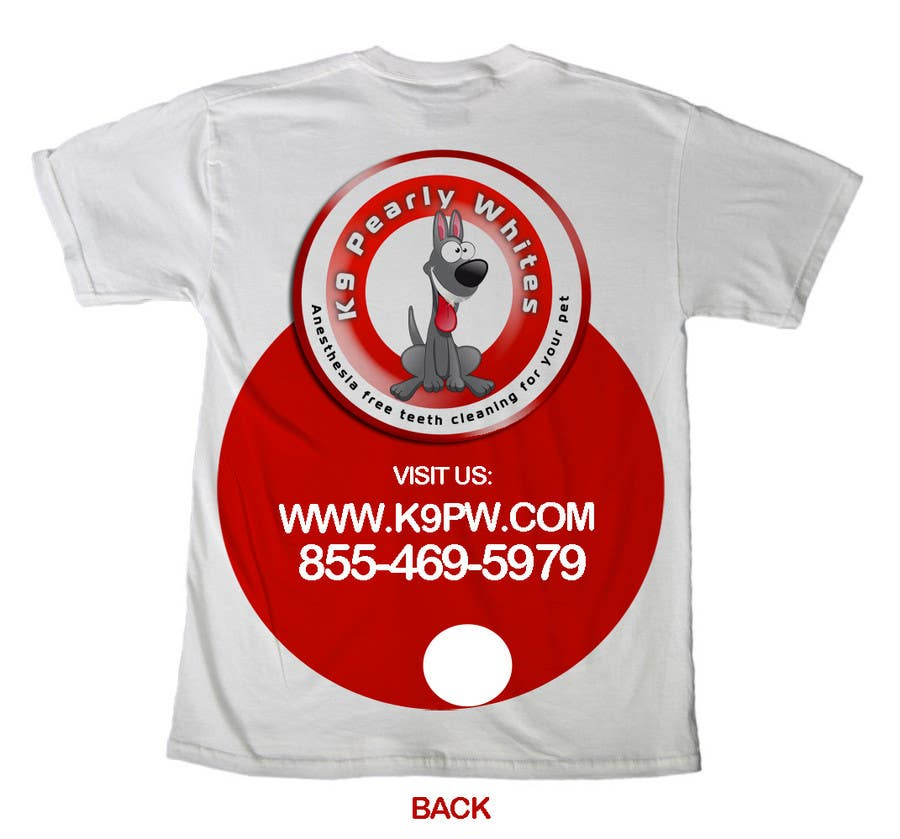 Proposition n°                                        82                                      du concours                                         T-shirt Design for K9 Pearly Whites