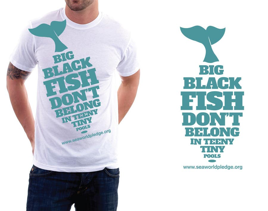Contest Entry #1 for T-Shirt Design for Big Black Fish