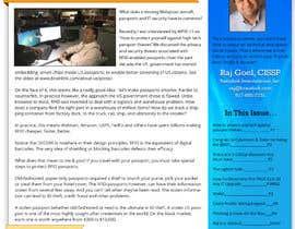 Nro 21 kilpailuun Redesign my newsletter käyttäjältä suchitrawalunj