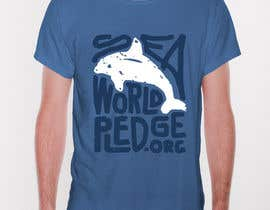 #48 para I Love Seaworld Pledge t-shirt por originalov