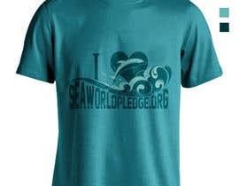 #30 untuk I Love Seaworld Pledge t-shirt oleh whykdesigns