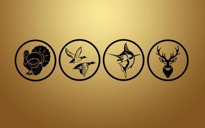 vishvjeetcheema tarafından Create 4 Icons. Turkey, Deer, Duck, and Fish. için no 1