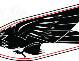 geekygrafixbc tarafından Design an Eagle Tattoo için no 23