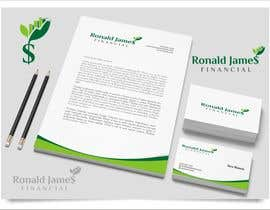 #136 for Design a Logo for Ronald James Financial by indraDhe