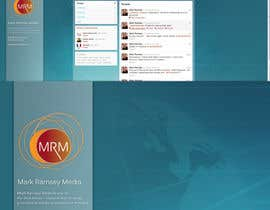 #35 para Twitter Background for Mark Ramsey Media por hellsan631