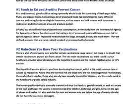 nadeneseiters tarafından Natural ways to prevent cancer için no 1