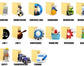 #16 for Design some Icons for Folders af kido0101