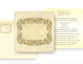 Nro 29 kilpailuun Design some Wedding and Mehndi Party Invitations for MUSLIM WEDDING käyttäjältä artist4