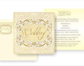 #31 for Design some Wedding and Mehndi Party Invitations for MUSLIM WEDDING by artist4
